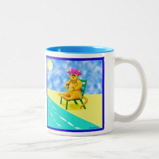 Leisure Cat Mug