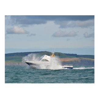 Leisure Fishing Boat Postcard
