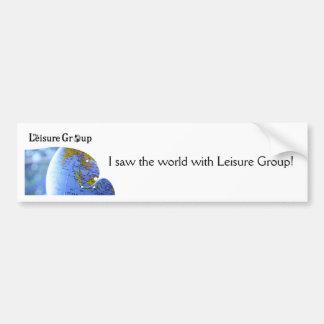 Leisure Group, LLC   Bumper Sticker