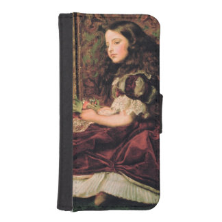 Leisure Hours, 1864 Wallet Phone Case For iPhone SE/5/5s