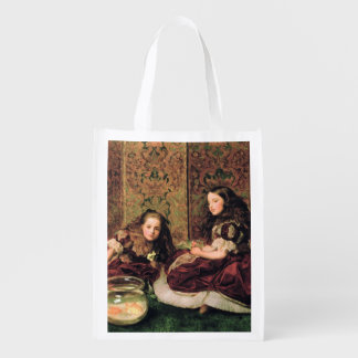 Leisure Hours, 1864 Reusable Grocery Bags