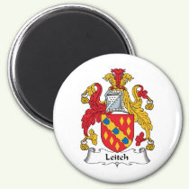 Leitch Family Crest Magnet