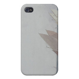 Leith Roads with Shipping, 19th century Covers For iPhone 4
