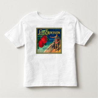 Leiv Eriksson Apple Label - Cashmere, WA Toddler T-shirt