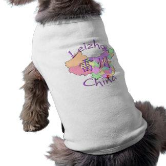 Leizhou China Camisetas Mascota