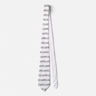 Lejos del teclado corbatas