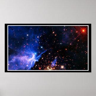 Lejos galaxia póster