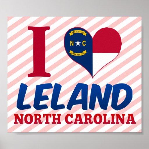 Leland, Carolina del Norte Poster