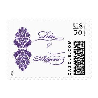 Lelia & Yomi Wedding Stamps