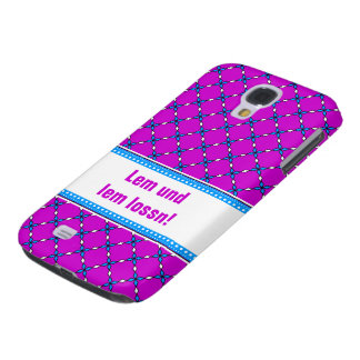 Lem and lem lossn! samsung galaxy s4 cover