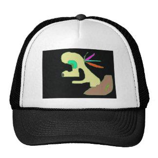 lem character from cartoon trucker hat