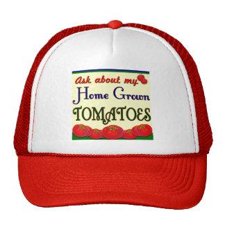 Lema de cosecha propia del jardín del tomate gorro de camionero