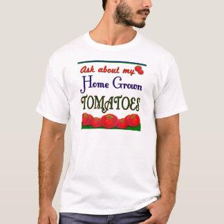 Lema de cosecha propia del jardín del tomate playera