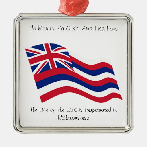 Lema de Hawaii Adorno De Navidad