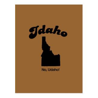 Lema de Idaho - ningún U DA ho Tarjetas Postales