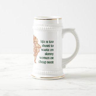 Lema de la diosa jarra de cerveza