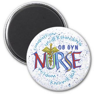 Lema de la enfermera de Ob Gyn Imán De Frigorífico