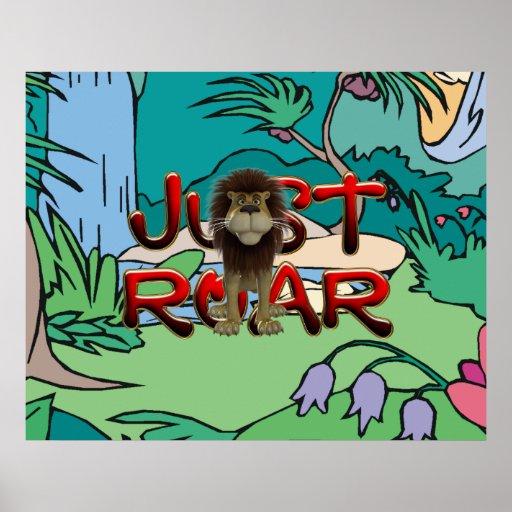 Lema de la selva de la CAMISETA Posters