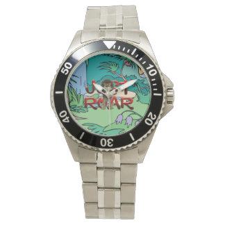 Lema de la selva de la CAMISETA Relojes De Pulsera
