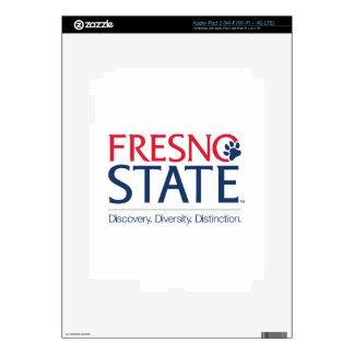 Lema de la universidad de estado de Fresno iPad 3 Pegatina Skin