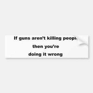 Lema de los armas pegatina para auto