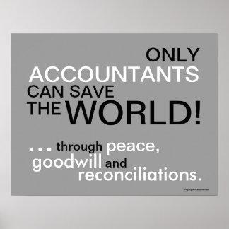 Lema de motivación del contable póster