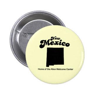 Lema de New México - centro de recepción extranjer Pins