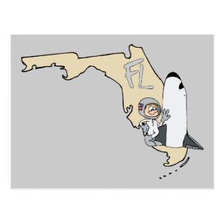 Lema del arte del dibujo animado del mapa y del tr postal