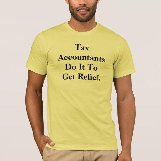 Lema del contable del impuesto playera