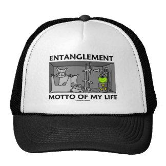 Lema del enredo de mi vida (la física de Quantum) Gorras