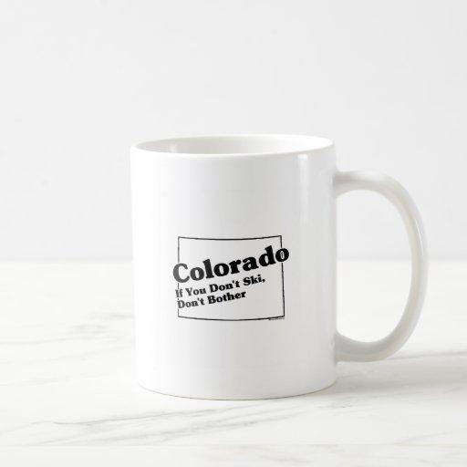 Lema del estado de Colorado Taza De Café