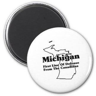 Lema del estado de Michigan Imanes