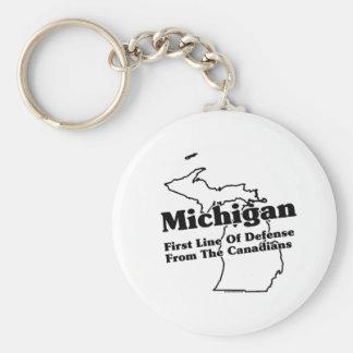 Lema del estado de Michigan Llavero Personalizado