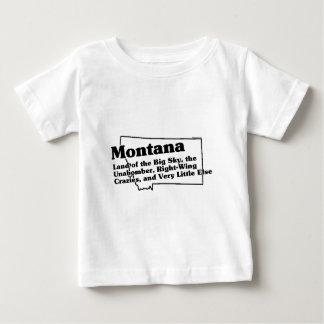 Lema del estado de Montana Playeras