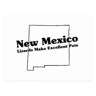Lema del estado de New México Tarjetas Postales