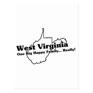Lema del estado de Virginia Occidental Postales