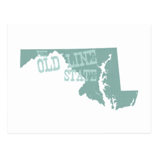 Lema del lema del estado de Maryland Postal