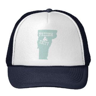 Lema del lema del estado de Vermont Gorros Bordados