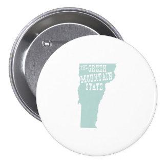 Lema del lema del estado de Vermont Pin Redondo 7 Cm