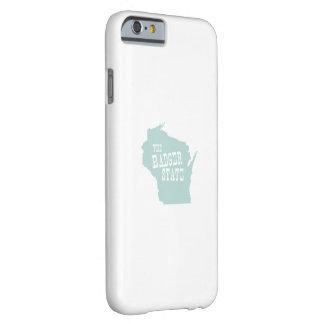 Lema del lema del estado de Wisconsin Funda De iPhone 6 Barely There