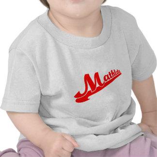 Lema del mathlete de la matemáticas camiseta