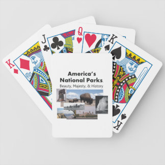 Lema del parque nacional de la CAMISETA Cartas De Juego
