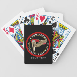 Lema del pionero baraja cartas de poker