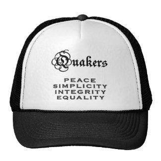 Lema del Quaker Gorros