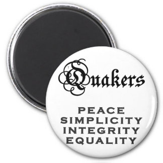 Lema del Quaker Imán Redondo 5 Cm