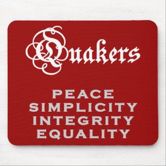 Lema del Quaker Tapete De Raton
