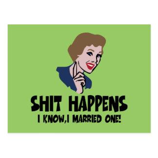 Lema divertido del divorcio tarjetas postales
