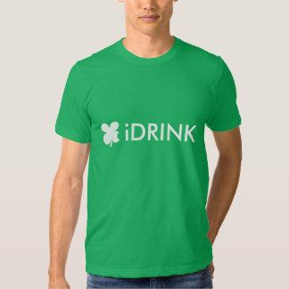 Lema el | de la camiseta del día de St Patrick Polera