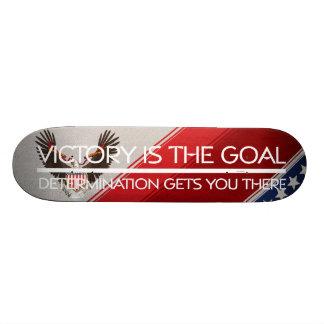 Lema político de la victoria de la CAMISETA Skateboard