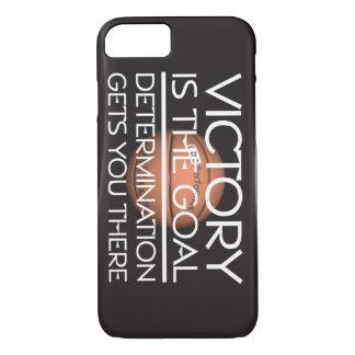 Lema SUPERIOR de la victoria del baloncesto Funda iPhone 7